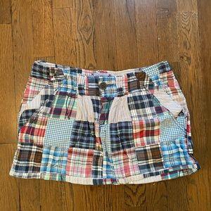 💙American Eagle Women's Patchwork Mini Skirt
